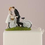 Figurina Tort Comica Bicicleta. COD F215