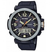 Casio Outdoor Analog-Digital Grey Dial Mens Watch-PRG-600-1DR (SL92)
