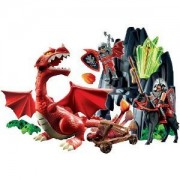 Playmobil Knights of Dragon Rock with Dragon