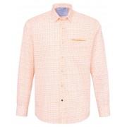 Pierre Cardin Heren Overhemd van 100% katoen met borstzak Van Pierre Cardin wit