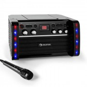 Auna Disco Fever Equipo de karaoke reproductor CD-/CD+G (KS1-DISCO FEVER)