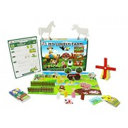 XploraBox My Lovely Farm IThink Games with Learning Activity Game for Above 4 Years (Multicolour)