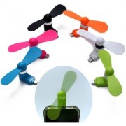 Mini Portable Micro USB/OTG/Smartphone/Tablet/Mobile Fan (Multicolour)