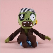2017 hot sale Plants vs Zombies Plush Toys Soft Stuffed Plush Toys Doll Baby Toy for Kids Gifts Party Toys( ice watermelon)