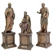 Design Toscano Master of Western Philosophy Statue: Set