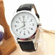 2017 New Fashion Quartz Wristwatches Classical Elegant Analog Luxury Sports Leather Strap Quartz Mens Wrist Watch Hot Gift 309