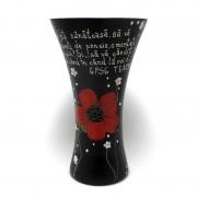 Vaza cu mesaj de pensionare
