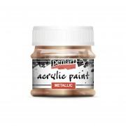 Pentart Metál antikarany színű akril bázisú hobbi festék 50 ml