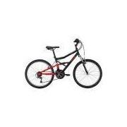 Bicicleta Caloi Shok 21 marchas Aro 24 MTB - Preto