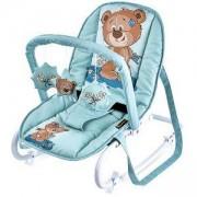 Бебешки шезлонг с гриф Top Relax, Lorelli, Green Cute Bea, 0740228