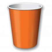 Geen Party bekers oranje 8 stuks