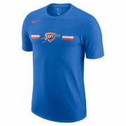 Oklahoma City Thunder Nike Dri-FIT NBA-T-Shirt für Herren - Blau