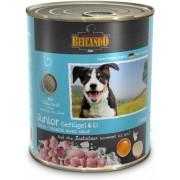 Belcando Junior konzerv baromfihússal és tojással 12 x 9.6kg