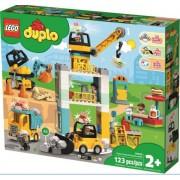 LEGO DUPLO Town Tower Crane & Construction - 10933