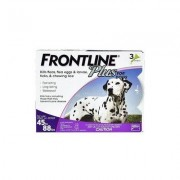 Frontline Plus Large Dogs 45-88 Lbs (Purple) 3 Doses