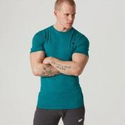 Myprotein Męski T-shirt Seamless Myprotein – Black Marl - XXL - Morski