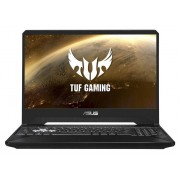 "Asus TUF Gaming FX505DU-BQ124T notebook/portatile Nero Computer portatile 39,6 cm (15.6"") 1920 x 1080 Pixel AMD Ryzen 7 16 GB DDR4-SDRAM 1256 GB HDD+SSD NVIDIA® GeForce® GTX 1660 Ti Wi-Fi 5 (802.11ac) Windows 10 Home"