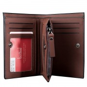 High quality Leather men's Wallets Wholesale purse leather SHORT leather wallets ,Best gift, Free Shipping