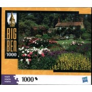 Big Ben 1000 Piece Puzzle - Cottage in the Spring, Norfolk, England