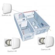 Ventilatie apartament Aerauliqa Quantum HR 150 cu Controler HR CTRL-S