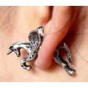 Unikornis fülbevaló