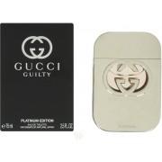 Gucci Guilty Platinum Pour Femme 75ml