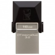 Kingston DataTraveler microDuo - stick de memorie USB 3.0 - microUSB 16GB