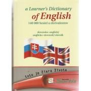a Learner´s Dictionary of English. Anglicko-slovenský a slovensko-anglický slovník