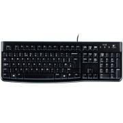 Клавиатура K120, USB, Black, OEM