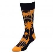 Strollegant PALMS Crew Socks Black