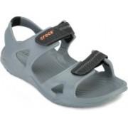 Crocs Men Grey Sports Sandals