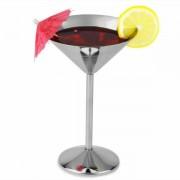 Martini Glas - Rustfri Stål