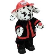 "Chantilly Lane 14"" Blaze Dalmatian Fireman Sings ""Ring of Fire"""