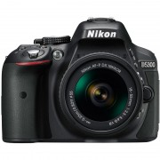 APARAT FOTO NIKON D5300 KIT AF-P 18-55MM VR 24.2MP BLACK