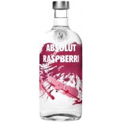 Absolut Vodka Raspberry 1L 40%