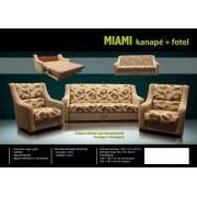 Miami kanapé és 2 db fotel