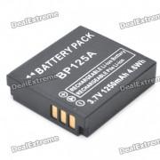 reemplazo IA-BP125A bateria compatible 3.7V 1250mah para la camara de Samsung