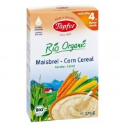 Topfer - Cereale cu porumb si morcov, 175 g, 4 luni+