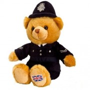 Keel Toys 19cm Policeman Hug Me Bear [Toy] by Soft Toys