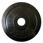 Discuri gantere 7.5 kg. (Cauciuc) diametru: Ø50 mm.