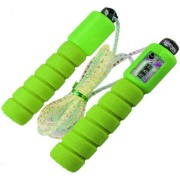 GENERIC Jumping Skipping Rope with Counting Meter (Color May Vary)