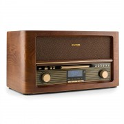 Auna Belle Epoque 1906 DAB, ретро стерео система, bluetooth, CD, USB, MP3, FM (RM1-Epoque1906 DAB)