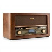 Auna Belle Epoque 1906 DAB, ретро стерео система, bluetooth, CD, USB, MP3, FM (RM1-Epoque1906 DAB)