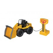 Toy State Caterpillar Construction Machines Light and Sound Job Site Machine Wheel Loader (Styles May Vary)