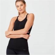 Myprotein Camiseta de Tirantes sin costuras Shape - XL - Negro