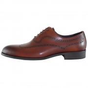 Pantofi eleganti, piele naturala barbati - maro, Alberto Clarini - A053-56B-Brown