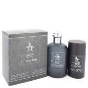 Original Penguin Iconic Blend Eau De Toilette Spray 3.4 oz / 100.55 mL + Deodorant Stick 2.75 oz / 81.33 mL Gift Set Men's Fragr