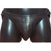 Mister B Posing Pouch One Belt Plain G String Underwear Black 220100