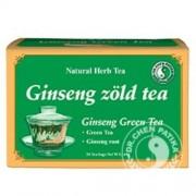 Dr. Chen Ginseng zöld tea, 20 filter