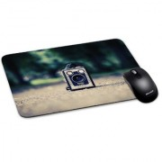 100yellow Mouse Pad | Vintage Mouse Pad Waterproof Coating Gaming Mouse Pad with Black Base
